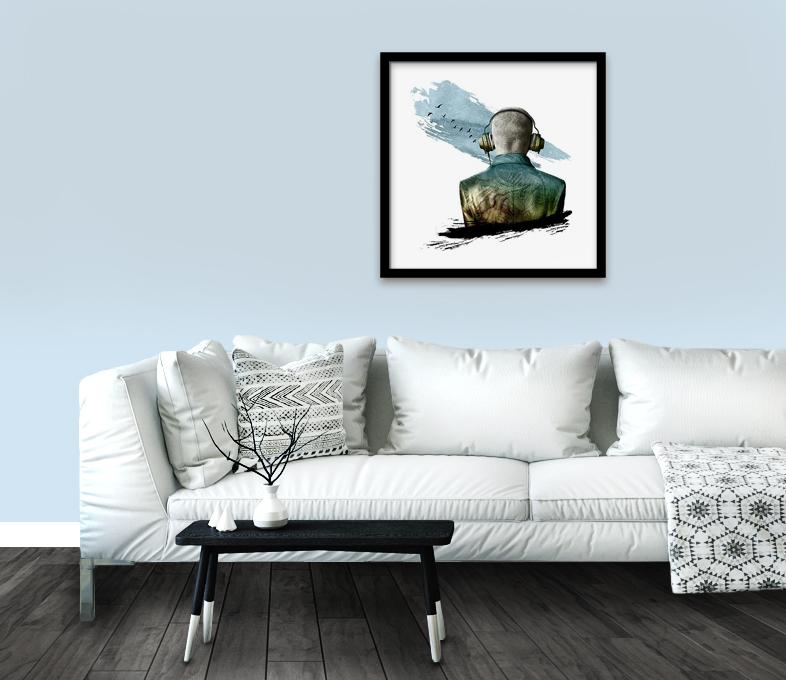 Décoration murale: cadre, tableaux, image